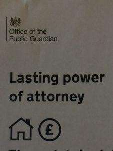 Lasting Power of Attorney Financial