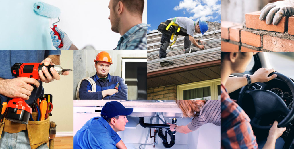Local tradesmen in all areas